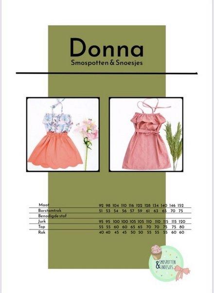 smospotten en snoesjes Donna dress, top and skirt