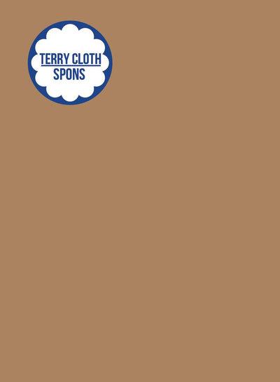 about blue fabrics Uni 20 Indian Tan  - effen spons