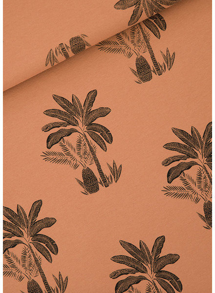 See You at Six Palm Trees - M - French Terry - Pecan Brown