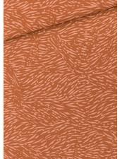 See You at Six Flecks  amber bruin - viscose rayon