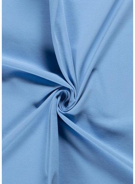 effen tricot - blauw 2