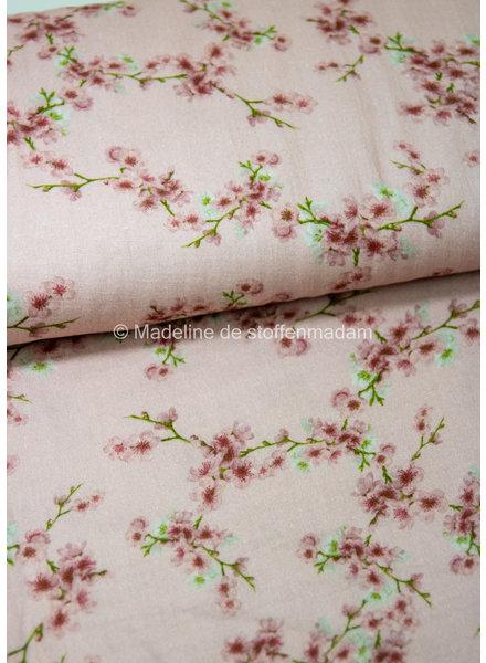 twigs pink - double gauze / tetra
