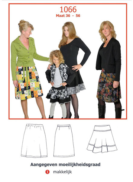it's a fits skirts - 1066