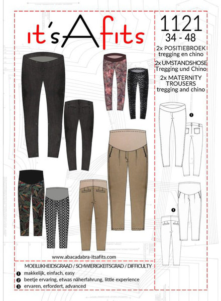 maternity trousers - tregging and chino - 1121