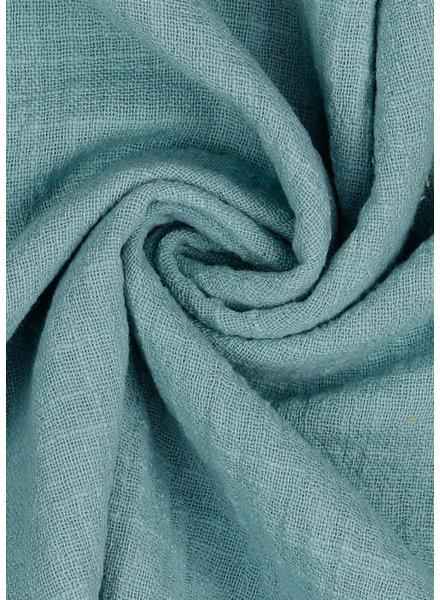 M mistblauw - linnen mix / tetra look