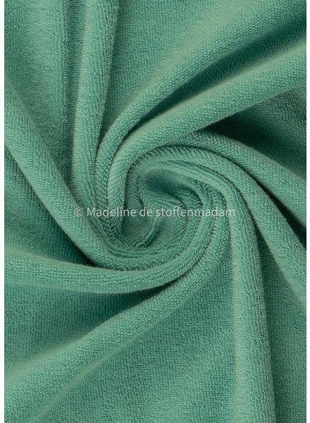 Swafing aqua blue stretch towel - 160 cm width