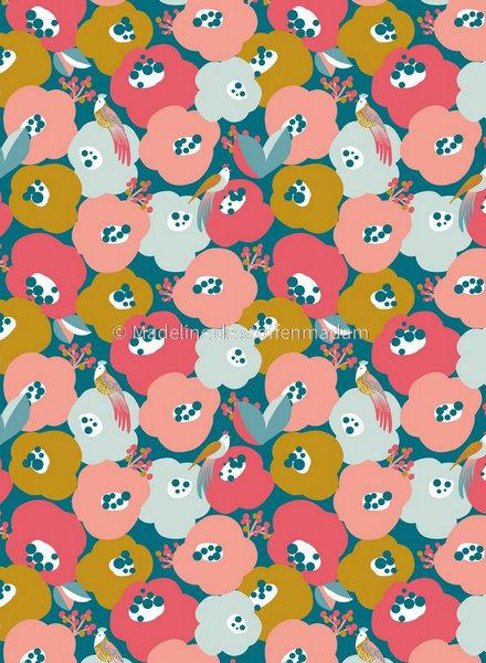 M singing birds - soft sweat - mooie kwaliteit sweater