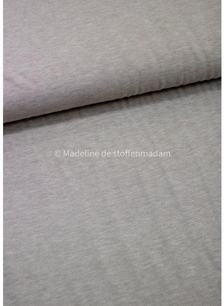 beige melange - polo pique jersey
