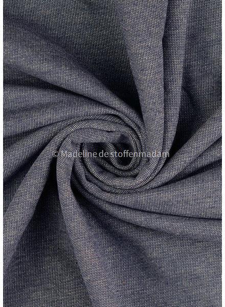 M bio cotton denim sweaterfabric