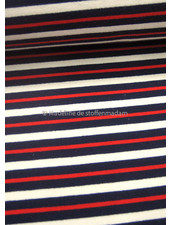 M red and blue stripes 002  french terry
