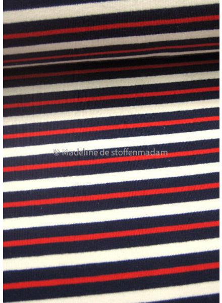 M rode en blauwe strepen 002  french terry
