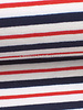 M blue and red stripes 001  french terry
