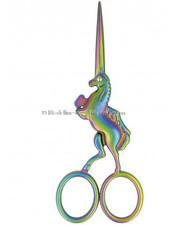 M unicorn borduurschaartje