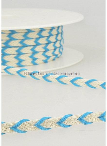 M two tone touw blauw- 6 mm - kleur 20