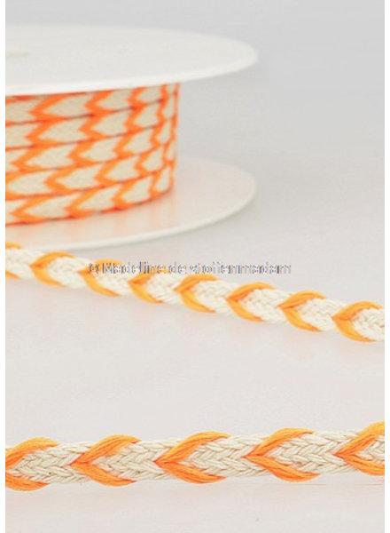 M two tone touw fluo oranje- 6 mm - kleur 103