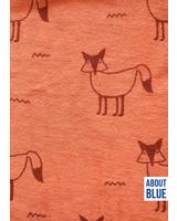 about blue fabrics Fox fiesta -sponge