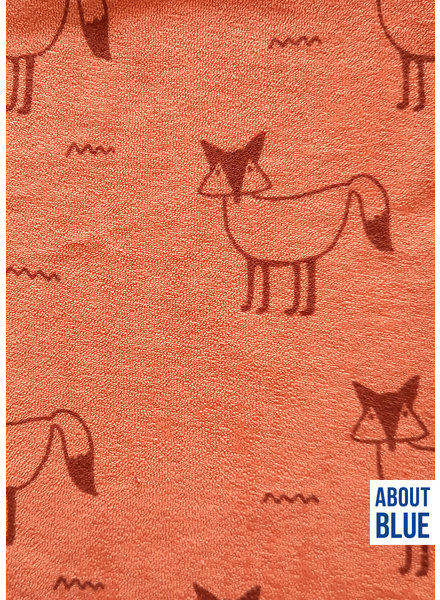 about blue fabrics Fox fiesta - spons