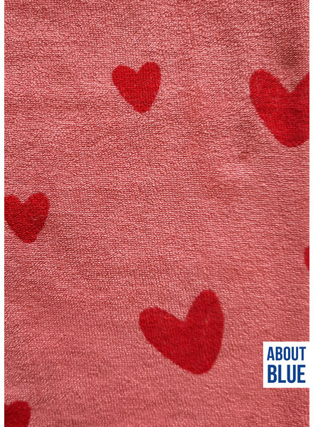 about blue fabrics Love u rose - spons