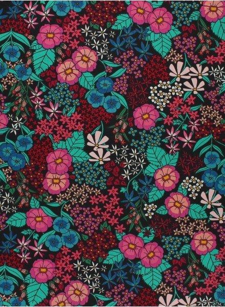ART GALLERY FABRICS The Flower Society -  flowers - cotton