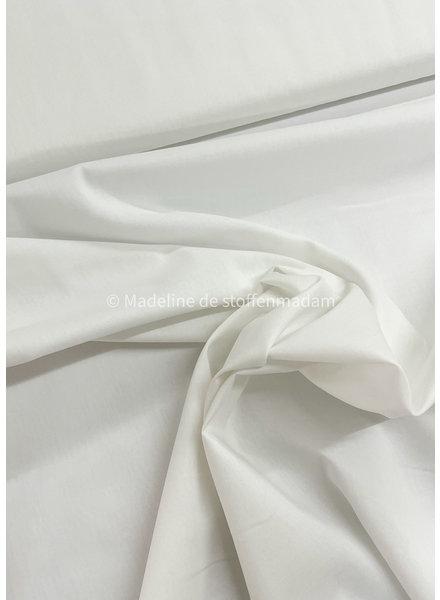 M cotton voile off-white