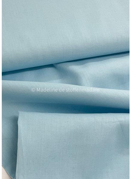 M cotton voile pale blue