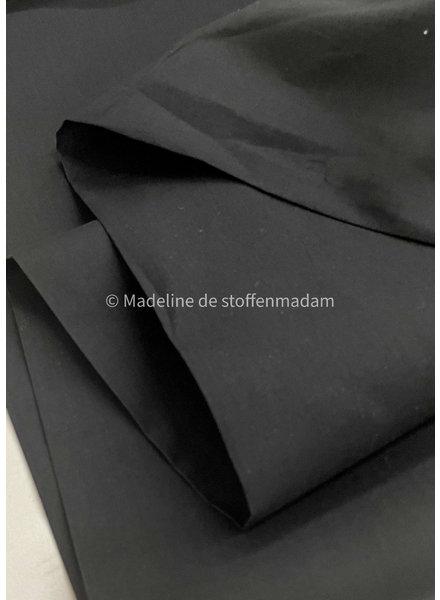 M cotton voile black