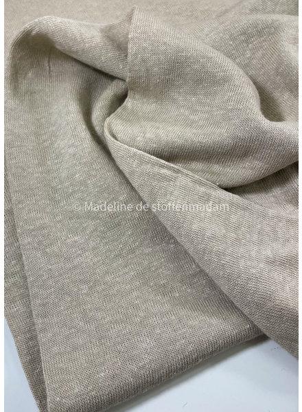 M sand - knitted linen viscose