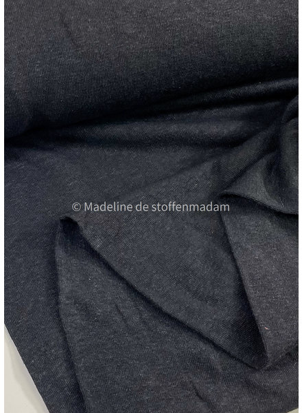 M black - knitted linen viscose