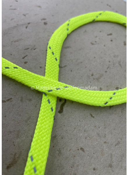 M neon yellow - cord - 9 mm - col 201