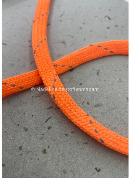 M neon orange - cord - 9 mm - col 201