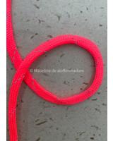 M neon roze - touw - 9 mm - kleur 205