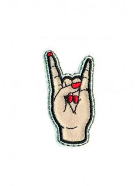 M Love  - strijk applicatie  5 cm