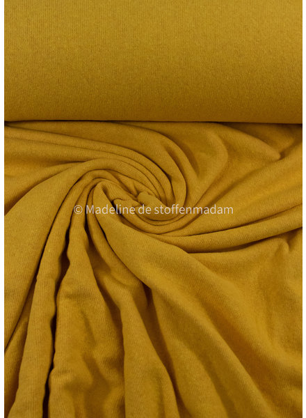 Swafing egg yellow - soft knitted fabric