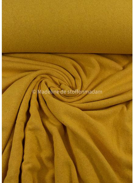 Swafing eierdooiergeel - zachte, vormvaste gebreide stof