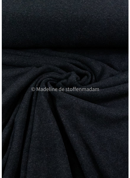 Swafing anthracite - soft knitted fabric
