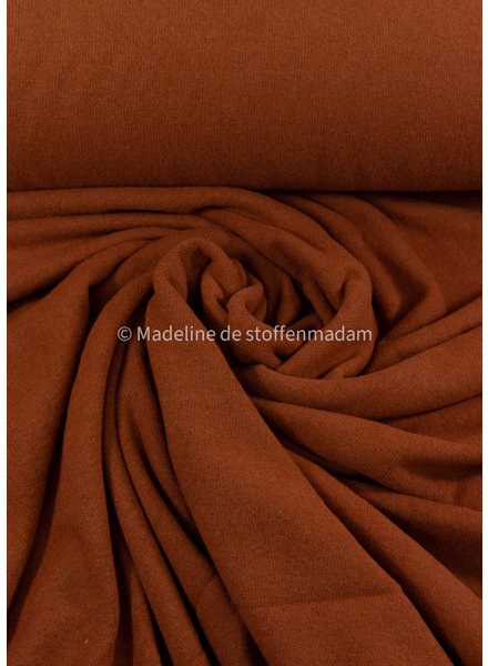 Swafing cognac - soft knitted fabric