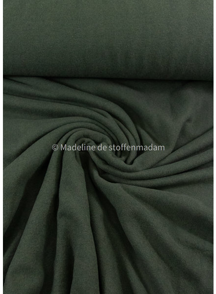 Swafing dark green - soft knitted fabric