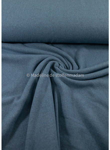 Swafing blue- soft knitted fabric