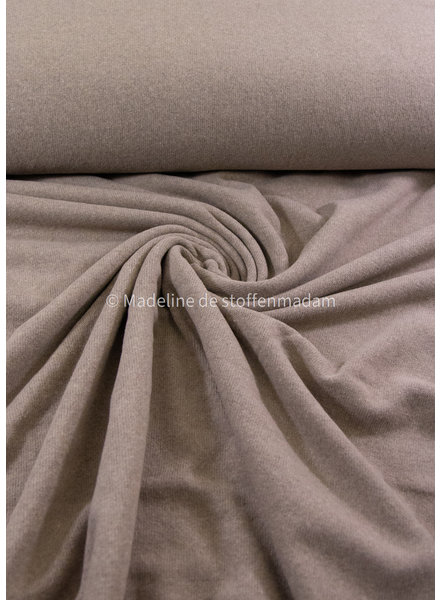 Swafing sand - soft knitted fabric