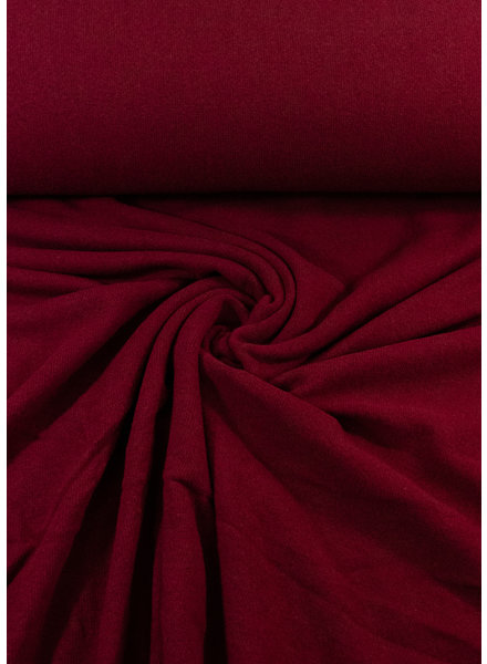 Swafing burgundy- soft knitted fabric