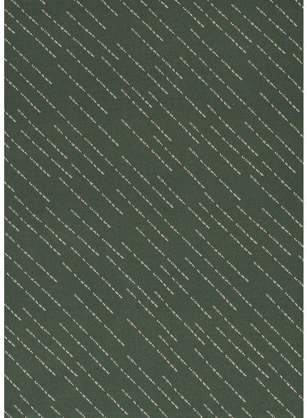 Swafing But first coffee dark green - viscose