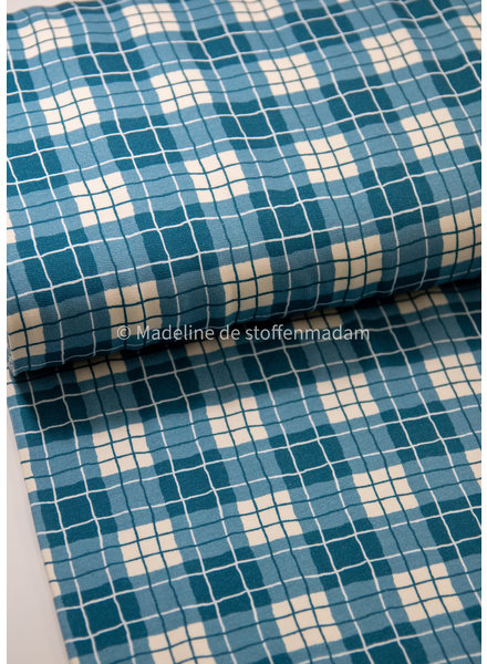 Swafing diamonds blue - french terry