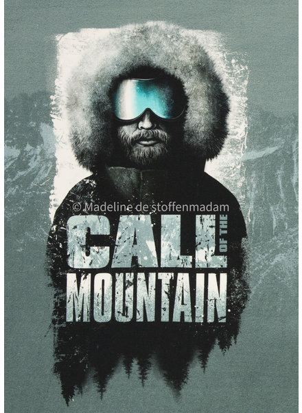 Swafing Call of the mountain - Thorsten Berger - panel 80 cm - french terry