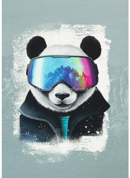 Swafing Snow Panda - Thorsten Berger - panel 75 cm - french terry