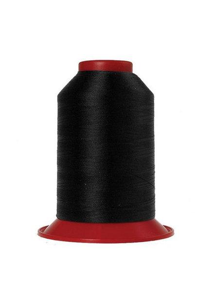 Amann Mettler Serafil 180 Tex 16 5000m - kleur 4000 - zwart
