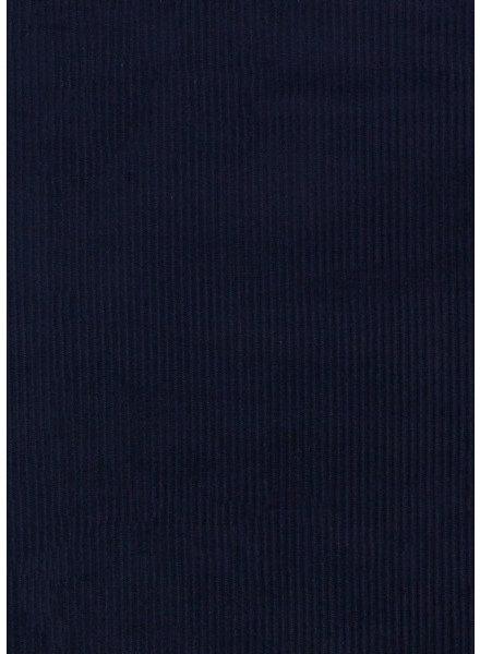 M marineblauw corduroy - met lichte stretch
