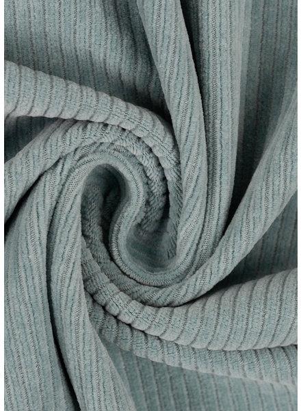 M mint - rekbare corduroy - hele mooie vormvaste kwaliteit