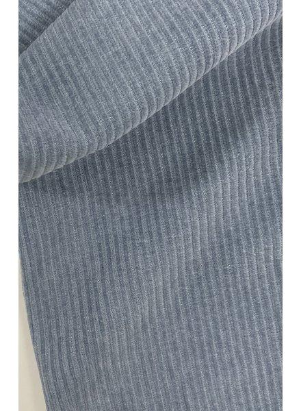 M dolphin blue - stretch corduroy