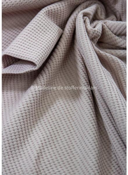 M dusty pink - waffle knit