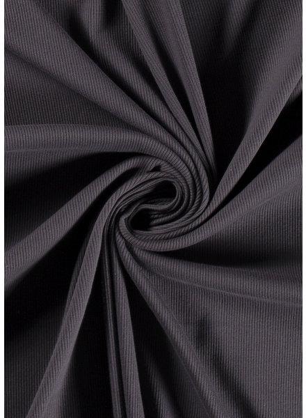 M dark grey - ribbed knit